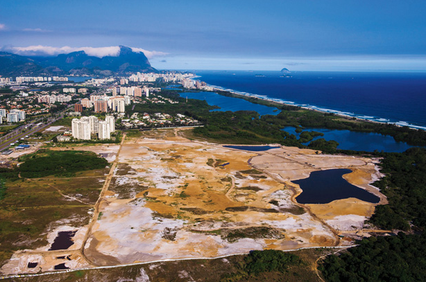 Rio Course delays in 2016 Olympic construction